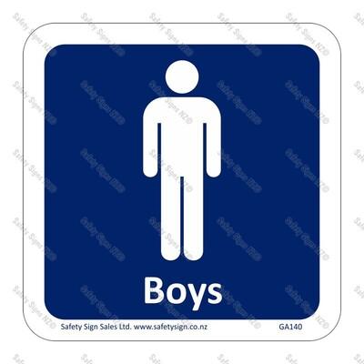GA140 - Boys Sign