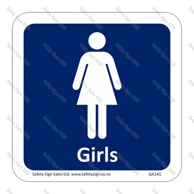 GA141 - Girls Sign